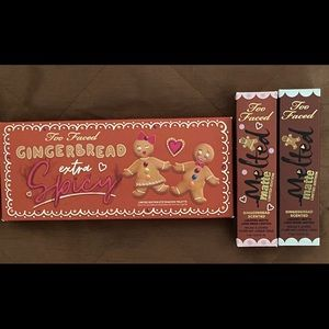 Authentic New Too Faced Spicy Gingerbread Set